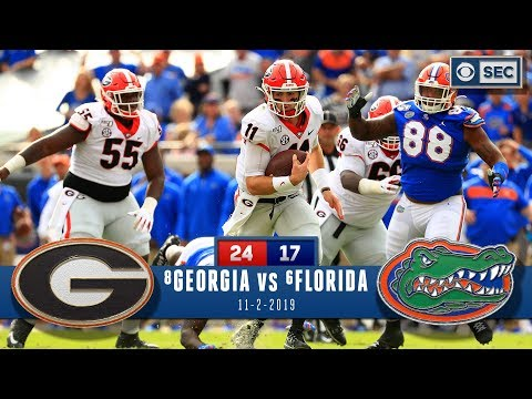 No.8 Georgia Vs No.6 Florida Recap: Dawgs Cage Gators Wire To Wire, Control SEC East | CBS Sports HQ