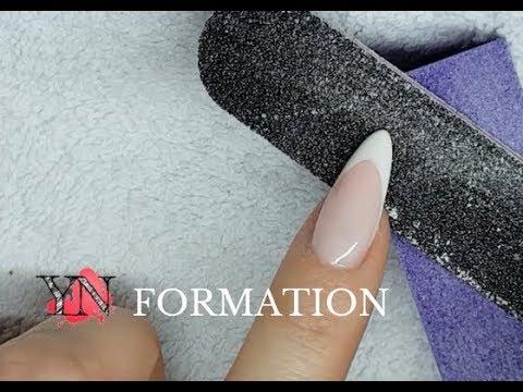 💅  FORMATION YN💅 Remplissage et Protocole complet pose gel UV/LED French sur Forme Amande
