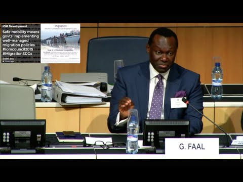 Panel Discussion on Sustainable Development Goals & IOM Migration Governance Framework