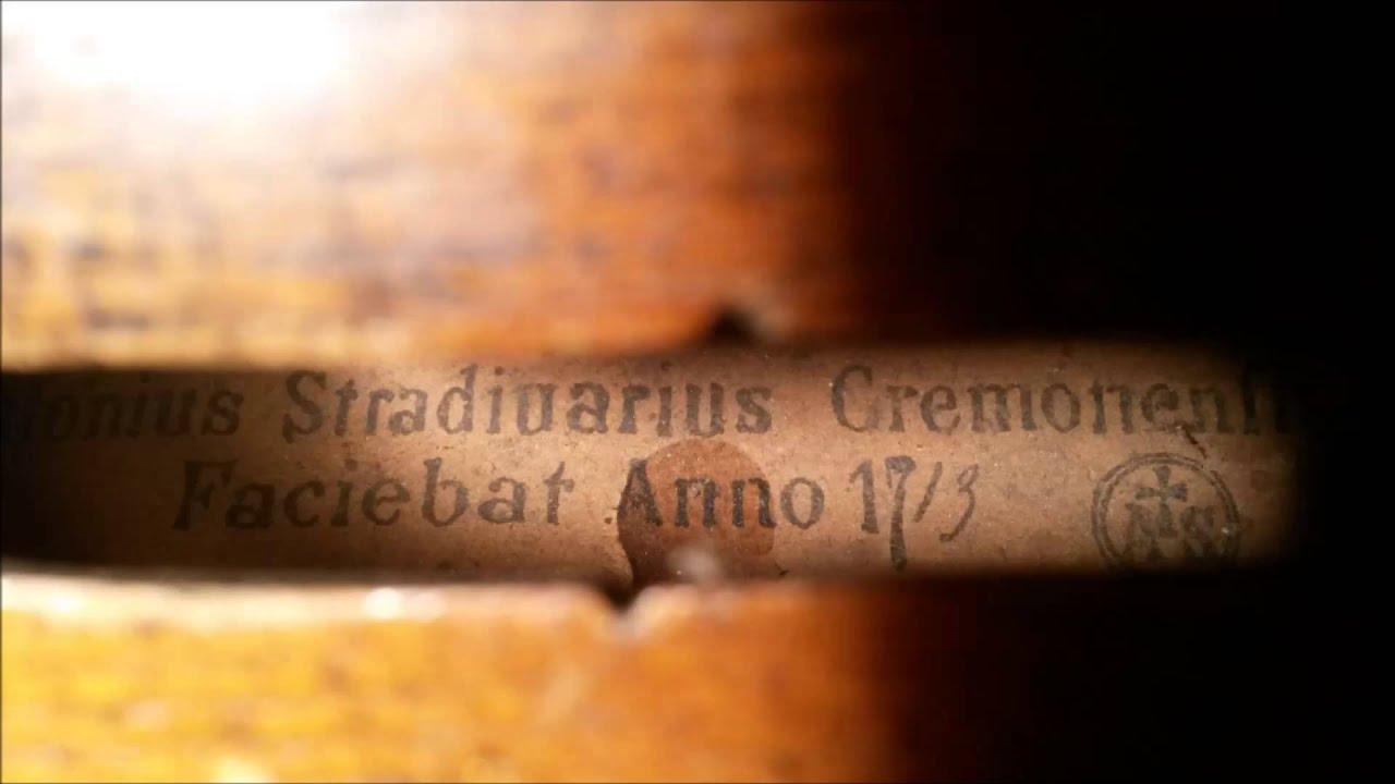 Antonius Stradiuarius Cremonesis Faciebat Anno 1713 Treasure