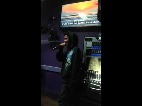 Karaoke do asfalto Nao me toca voz de Neco