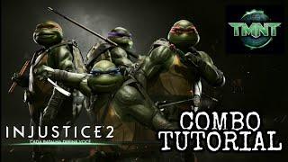 Injustice 2: TARTARUGAS NINJA - Combo Tutorial