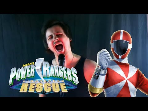 Power Rangers Lightspeed Rescue Cover by: Chris Allen Hess