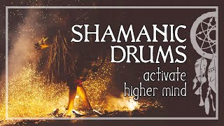SHAMANIC JOURNEY • Activate Your Higher Mind • Shaman Drums • Trance and Meditation