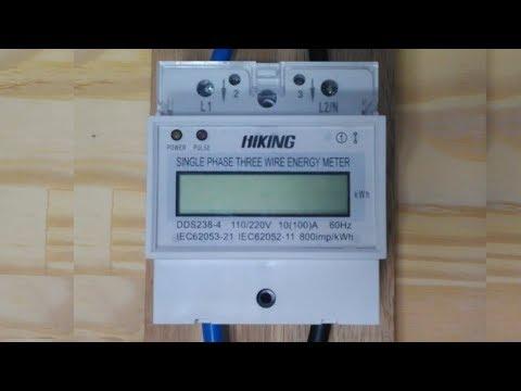 033 - Medidor De Consumo De Energia Elétrica DDS 238-4