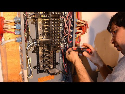 Wiring a new 240 volt circuit
