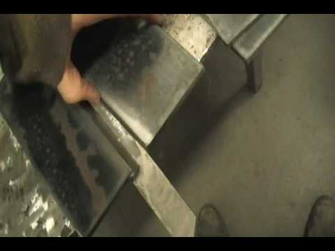 How to set up a welding certification bend test plate - YouTube