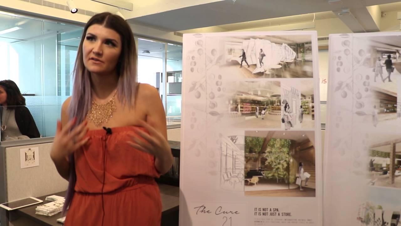 Interior Design Thesis Show 2016 Youtube