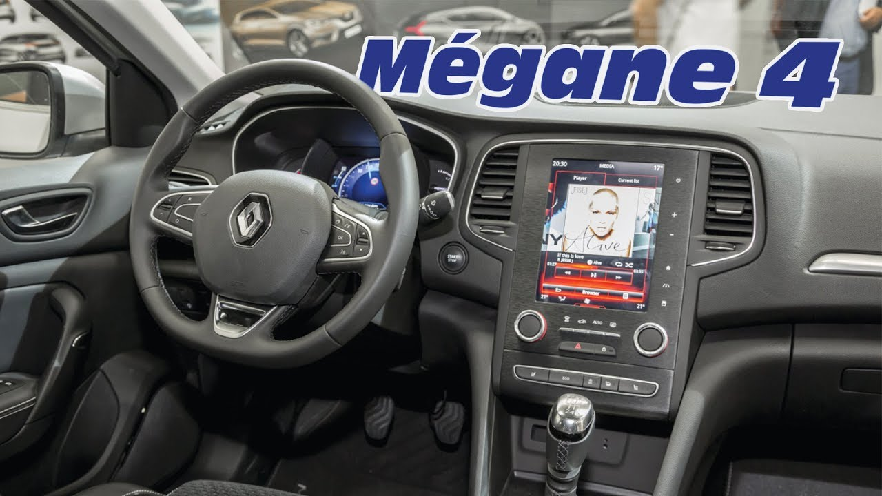 Int rieur de la renault m gane 4 2016 youtube for Interieur nouvelle megane