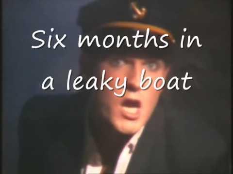 Split Enz 6 months in a leaky boat (Lyrics)