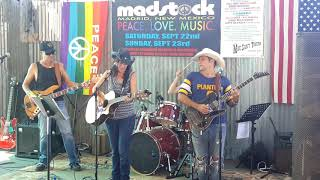 MADSTOCK – 1st Ever Madrid NM Festival  Mine Shaft Tavern 2018 - HOLLYHOCKS