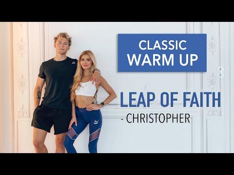 Leap Of Faith – Christopher // FULL BODY WARM UP / No Equipment I Pamela Reif