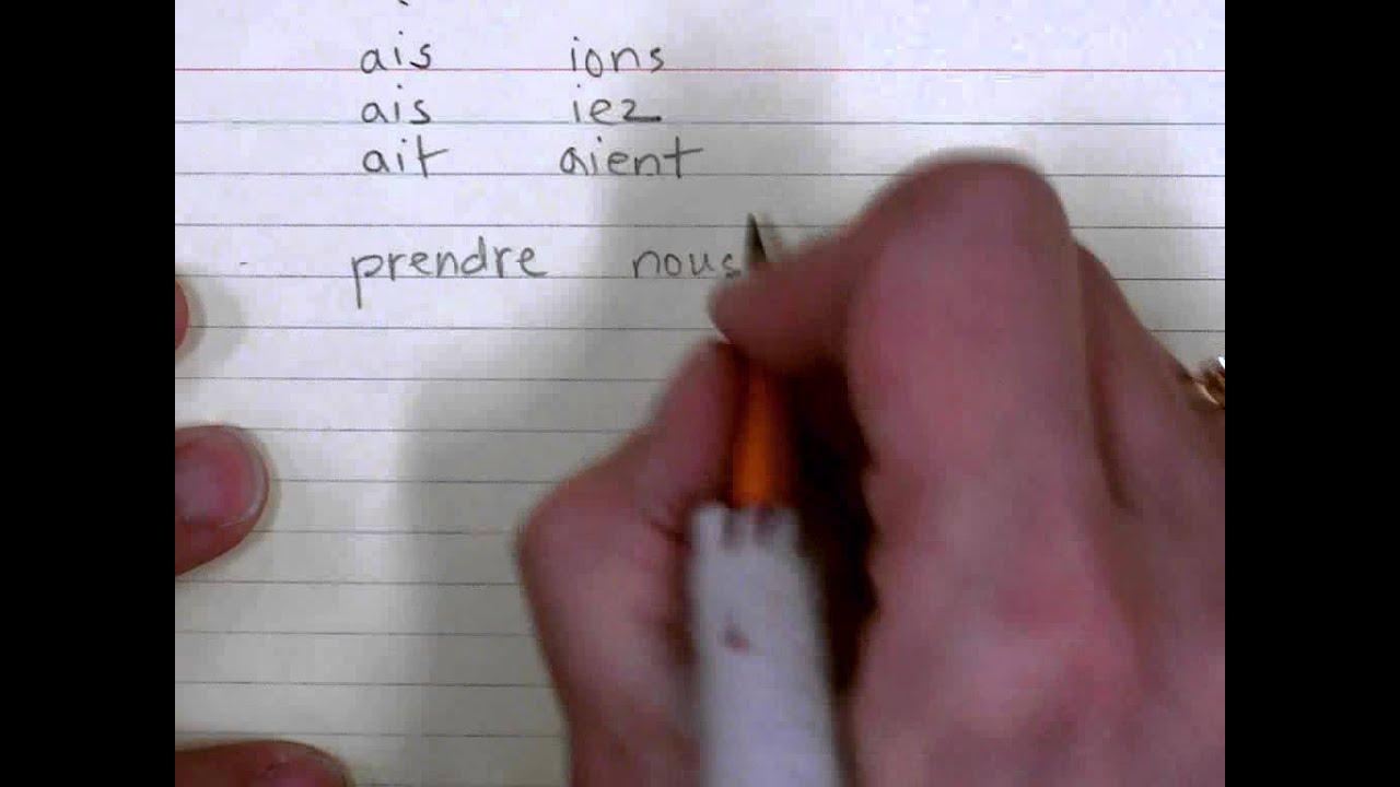 French Irregular Verbs Passé Composé
