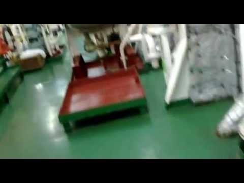 marine engine room.. m/v anna bo