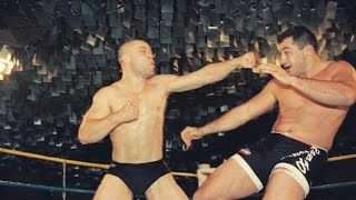 Wanderlei Silva Bare Knuckle Fighting (INSANE HEADBUTTS)