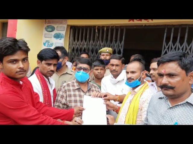 बहराइच जिले के एसडीएम महसी को पत्रकारों ने सौंपा ज्ञापन डॉक्टर ने एसडीएम का भी नहीं किया सम्मान अपनी