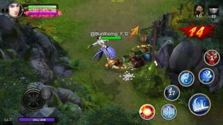 Play JX sabay online in phone part 1