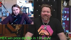 Wonderful 3 hour chat about Bitcoin, Ethereuem, longevity, HEX, the halvening and much more.