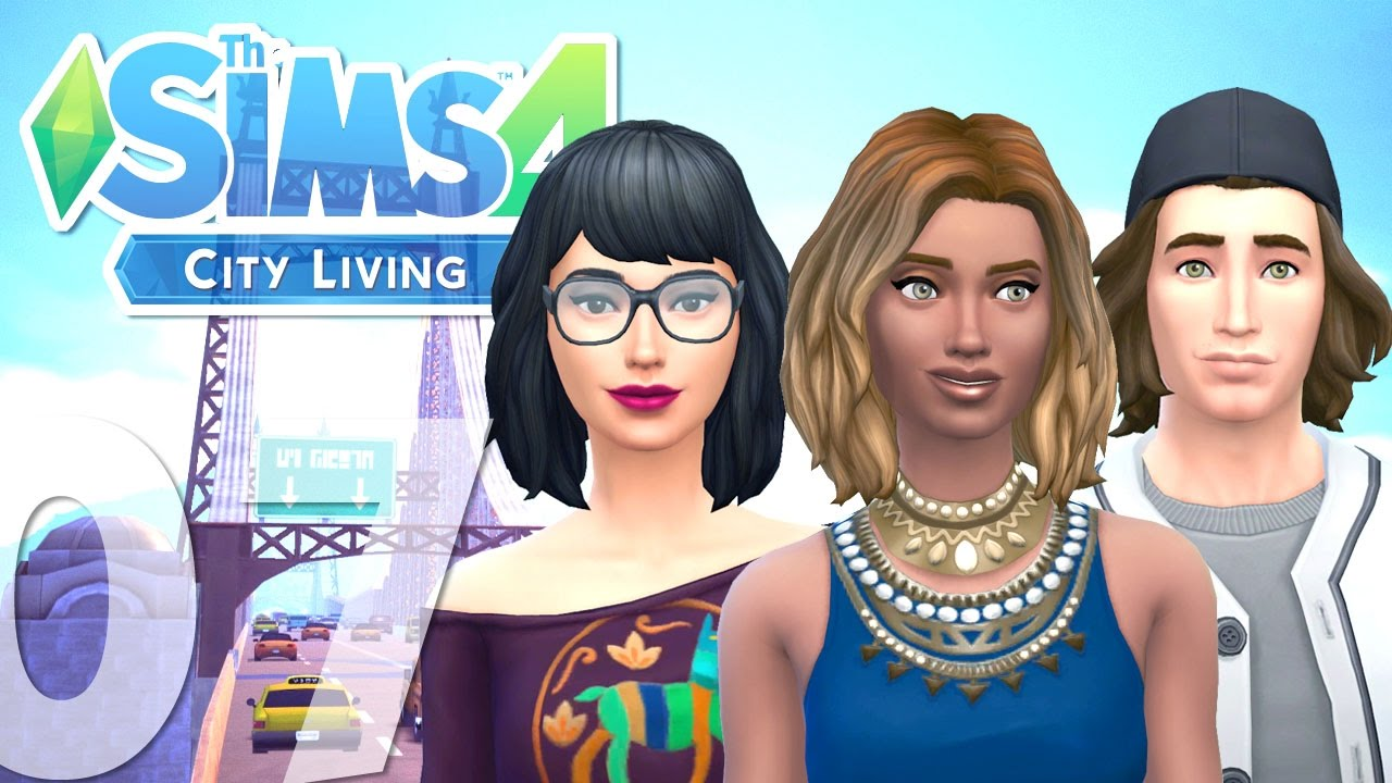Let's Play: The Sims 4 City Living - (Part 7) -Simstagram
