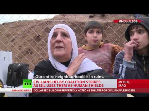 Scores feared dead in ruined Mosul building hit by coalition airstrike – witnesses