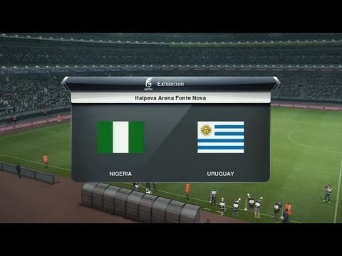 Nigéria - Uruguay [PES 2013] | Coupe des Confédérations 2013 (2nde Journée - Groupe B) | CPU Vs.