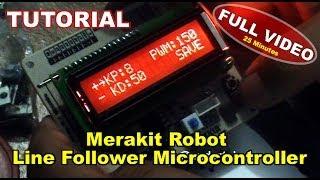 Tutorial membuat Line Follower menggunakan Arduino