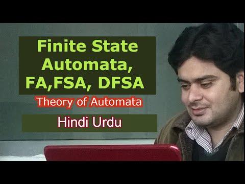 3.1 Finite State Automata, FA,FSA, DFSA