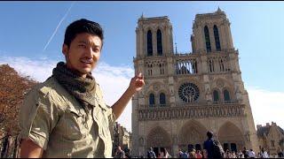 巴黎圣母院的前世今生,看世界要趁早