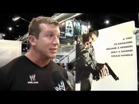 WWE - The Marine 2 at Comic Con!