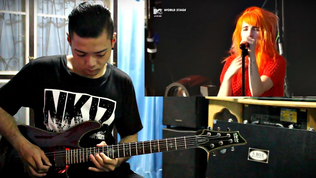paramore decode guitar cover by wan youtube