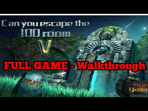 Can You Escape The 100 Room 5 FULL GAME Level 1 - 50 Walkthrough