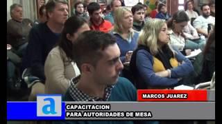 Carlos Aliaga. Capacitación para autoridades de mesa en vista a las PASO 2017.