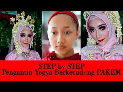 Tutorial Step By Step Jogja Berkerudung Hijab Tradisional Youtube