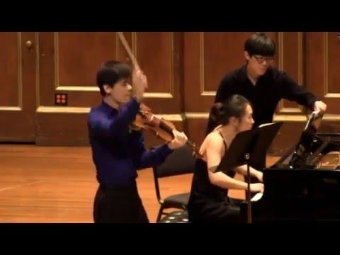 Beethoven Sonata No. 9 Kreutzer Angelo Xiang Yu Mei Rui Jordan Hall