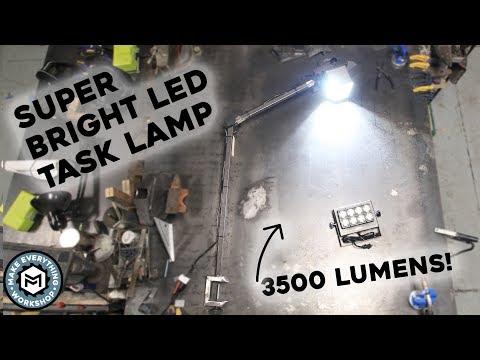 DIY LED Task Lamp (3500 Lumens)