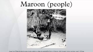 Maroon (people)