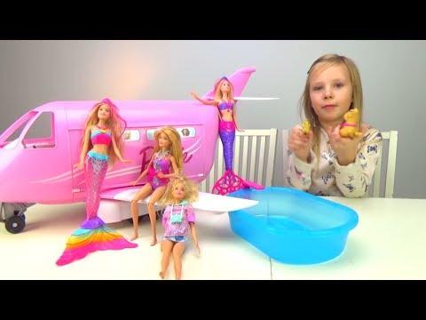 БАРБИ Обкакалась на вечеринке Видео для девочек с куклами Мультик Играем в Барби