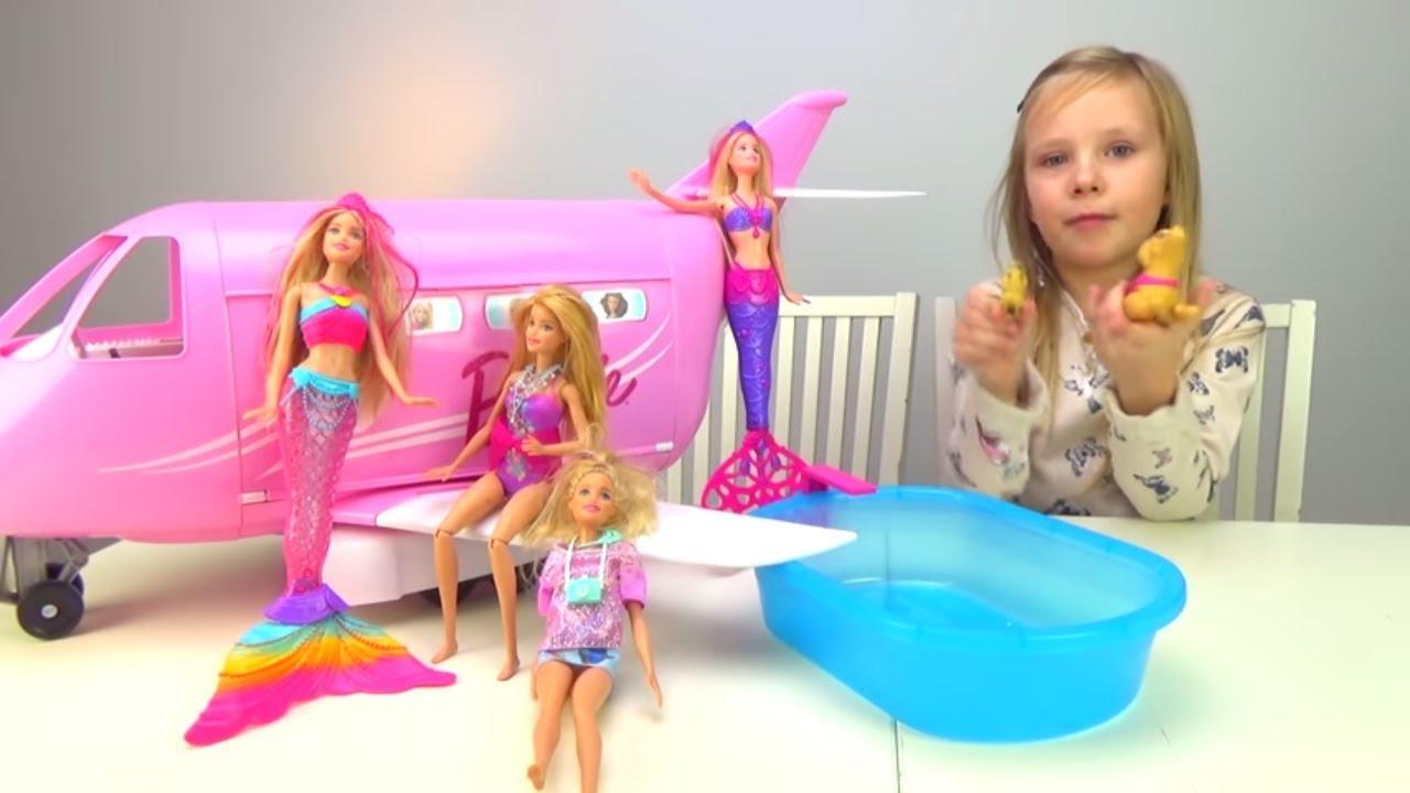 Николь  Испугалась до СЛЕЗ Барби на КВАДРОКОПТЕРЕ Летающая Кукла БАРБИ  топ Игры 2016-2017