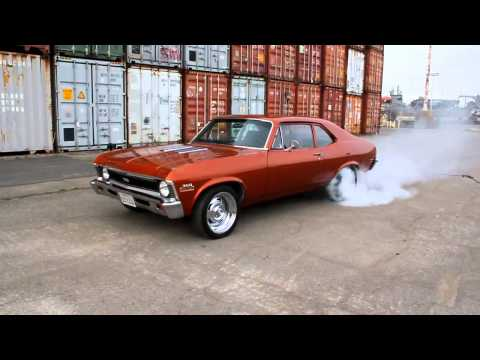 1971 Chevy Nova SS Burnout