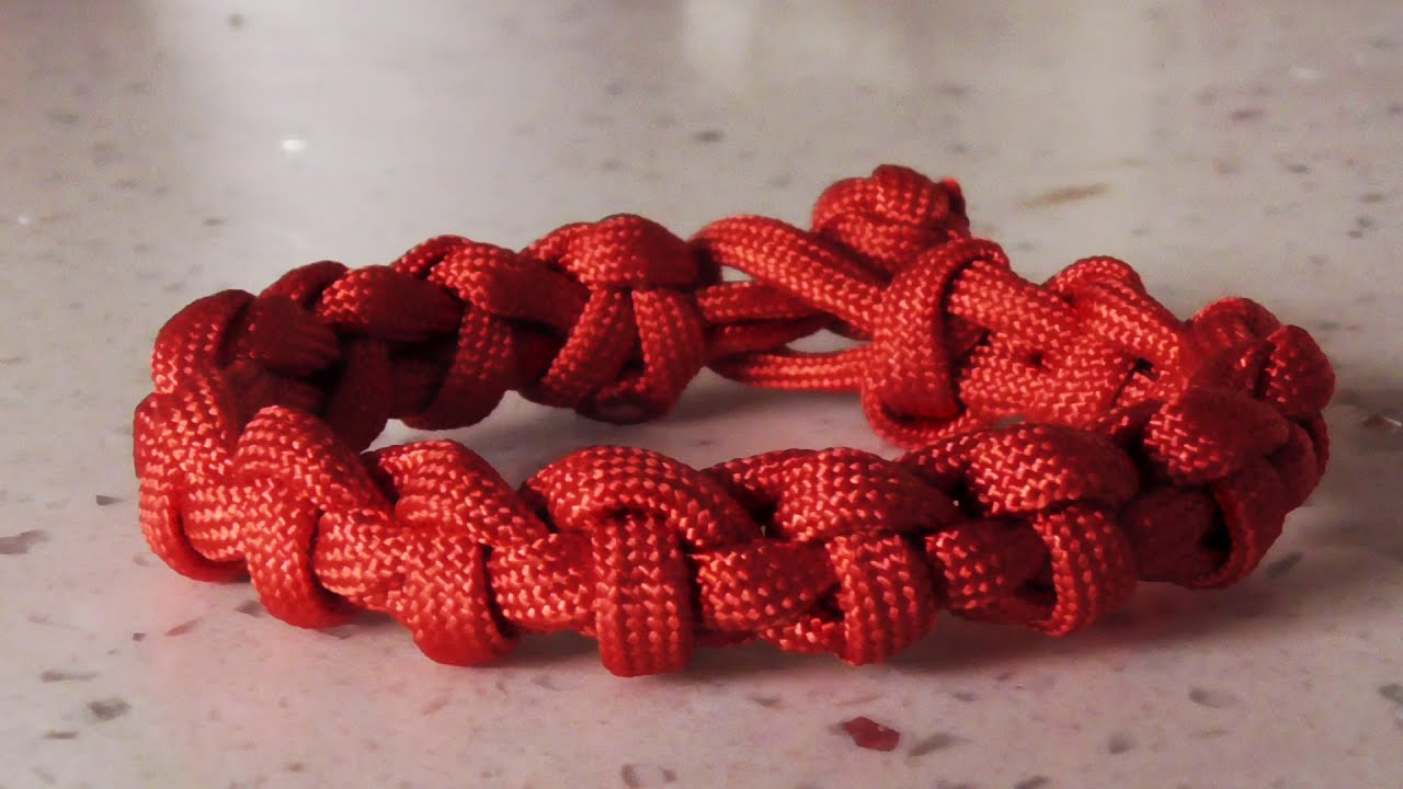 how to make a paracord bracelet with buckle how to tie the snaking cyclone paracord bracelet without 6452