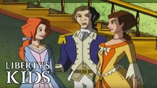 Liberty's Kids 121 HD - Sybil Ludington  | History Cartoons for Children