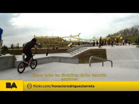 "<h3 class=""list-group-item-title"">Horacio Rodríguez Larreta - Parque Costanera de Deportes Extremos</h3>"