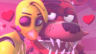 Foxy Finds True Love Anime Chica School Of Animatronics Foxy Dates Anime Chica