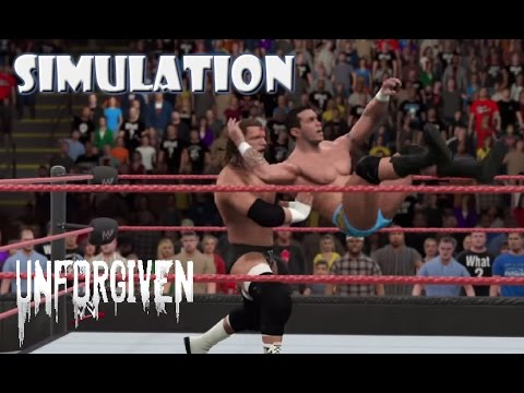 WWE 2K15 SIMULATION: Randy Orton vs Triple H | Unforgiven 2004