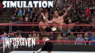 WWE 2K15 SIMULATION: Randy Orton vs Triple H   Unforgiven 2004