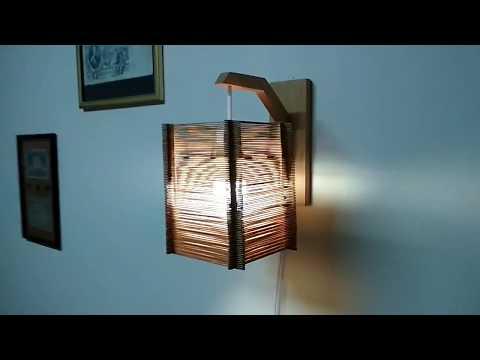 Напольные светильники в японском стиле своими руками