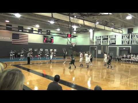 Eric Tanery Basketball Recruit Highlights - Westwood High School MA December 2011 Footage