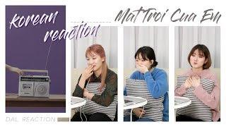 NGười Hàn Reaction #02   Mặt Trời Của Em - Official MV   Phương Ly ft JustaTee   DAL korean