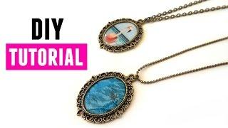 How to Make Personalised Photo Jewelry - DIY Jewelry Making