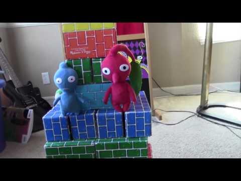 Purple Pikmin's Destructive Behavior